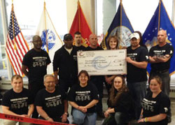 Veterans donation